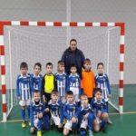 Micuții fotbaliști ai grupei 2009 de la CSO Cugir s-au impus în Cupa Crăciunului la minifotbal, de la Săsciori