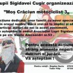 """Campania umanitară """"Moş Crăciun motociclist"""", organizată de asociația """"Lupii Singidavei"""" din Cugir, ajunge în acest an la cea de-a treia ediţie"""