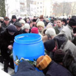 Astăzi 6 ianuarie 2017, sute de credincioși din Cugir au luat parte la slujbele de Bobotează oficiate la bisericile situate pe raza orașului