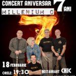 """Sâmbătă, 18 februarie 2017 – ora 19.30: Trupa """"Millenium C"""" vă invită să participați la Concertul Aniversar de la Restaurantul CHIC din Cugir"""