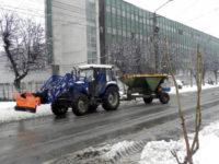 De această dată, căderile de zăpadă din această dimineață nu au mai prins pe picior greșit autoritățile locale din Cugir