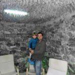 """Un tânăr cu inițiativă a transformat un apartament din Cugir într-o """"mini-stațiune"""" de tratare a bolilor aparatului respirator"""