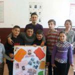 Scriitorul Ion Creangă sărbătorit de elevii Şcolii Gimnaziale din Ceru Băcăinţi, la 180 de la nașterea sa