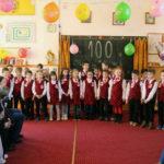 """Elevii clasei pregătitoare """"Step by Step"""" de la Școala Gimnazială Nr. 3 din Cugir au sărbătorit împlinirea a 100 de zile de școală"""