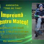 Mai multe firme și persoane fizice din Cugir au donat bani pentru Mateo, băiețelul cu 8 boli, care are nevoie de ajutor