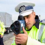 Tânăr de 28 de ani din Cugir surprins de un aparat radar al poliției în timp ce circula pe Autostrada A1 cu 226 kilometri pe oră