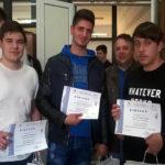 """Locul II la concursul național """"Electrotehniada – Creativitate în știință și tehnologii"""" pentru elevii de la Colegiul Tehnic """"Ion D. Lăzărescu"""" din Cugir"""