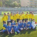 Echipa de fotbal a Școlii Gimnaziale Nr. 3 Cugir a câștigat, la Reșița, etapa zonală a Cupei Tymbark Junior