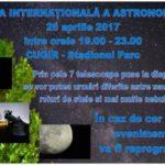 Mâine, 28 aprilie 2017, de Ziua Internațională a Astronomiei, cugirenii pot privi cerul prin 7 telescoape profesionale puse la dispoziție de voluntari