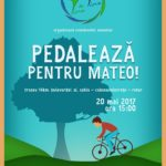"""Cazul lui Mateo l-a sensibilizat până şi pe Florin Piersic. Acesta susține evenimentul """"Pedalează Pentru Mateo!"""", ce se va desfășura sâmbătă, 20 mai 2017, la Cugir"""