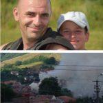 Un motociclist din Cugir și-a riscat viața, pentru a salva o femeie dintr-o casă cuprinsă de flăcări