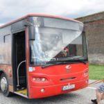 """""""Superman-ul"""" din Cugir și-a demonstrat forța la Alba Iulia. Ronel Eusebiu s-a """"luptat"""" cu un autobuz de aproape 9 tone"""