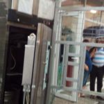 Dozator automat de lapte din Cugir, spart de hoți