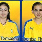 Două handbaliste junioare de la CSO Cugir, în vârstă de 13 ani, au semnat un contract cu Centrul Național de Excelență din Brașov