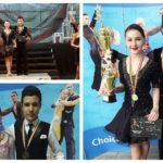 """Dansatorii de la Clubul """"ProDance – 2007"""" Cugir, pe podiumul celei de-a V-a ediții a concursului """"Transylvanian Grand Prix"""", de la Sibiu"""
