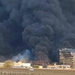 Mai multe persoane au fost rănite în urma unui incendiu violent, izbucnit la o fabrică de vopseluri din Orăștie