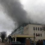 Incendiu la hala în care a funcționat fosta secție de electrocasnice a UM Cugir