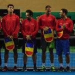 Cugireanul Bogdan Borza a adus unul din cele 4 puncte câștigate de echipa de Cupa Davis a României, în fața echipei similare a Luxemburgului