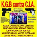 """Miercuri, 7 februarie 2018, Casa de Cultură a orașului Cugir va fi gazda spectacolului de comedie """"KGB contra CIA"""""""
