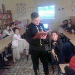 """Activități didactice derulate în comun de Școlile Gimnaziale """"Singidava"""" și """"Iosif Pervain"""" din Cugir cu ocazia Zilei Mondiale a Francofoniei"""