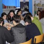 """Astăzi, 9 martie 2018, elevii de la Colegiul Național """"David Prodan"""" din Cugir l-au omagiat pe marele Mircea Eliade"""