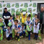 Echipa Școlii Gimnaziale Nr. 3 din Cugir a câștigat faza zonală a Cupei Tymbark la fotbal destinată copiilor claselor zero – doi