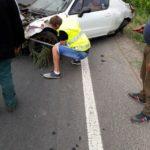 Un tânăr din Șibot a ieșit cu mașina în decor, după o depășire ratată pe DN 7