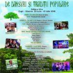 Între 29 iunie și 1 iulie 2018 va avea loc cea de-a VII-a ediție a Festivalului Național de Dansuri și Tradiții Populare Cugir – Vinerea