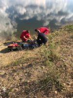 Un bărbat de 49 de ani din Săliștea a fost găsit fără suflare, într-o baltă din comuna Șibot