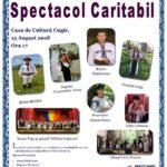 """Miercuri, 15 august 2018: Concert caritabil de muzică populară organizat de Asociația """"Raul Cosmin"""" din Cugir"""