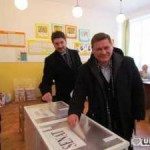 Dan Simedru și Adrian Teban au votat la Cugir