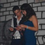 """Roxana Pârvulescu și Narcis Gherman – Miss și Mister Boboc ai Colegiului Tehnic """"I.D. Lăzărescu"""""""