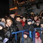 Cugirenii au sărbătorit revelionul în stradă
