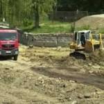 Protest al localnicilor din Balomir, revoltați că lucrările la autostrada Orăștie – Sibiu le distrug comuna